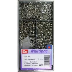 Sirkkarenkaat 5 mm 500 kpl