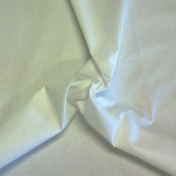 Valkoinen puuvillakangas