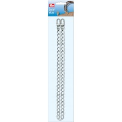 Metalliketju niklattu 70cm