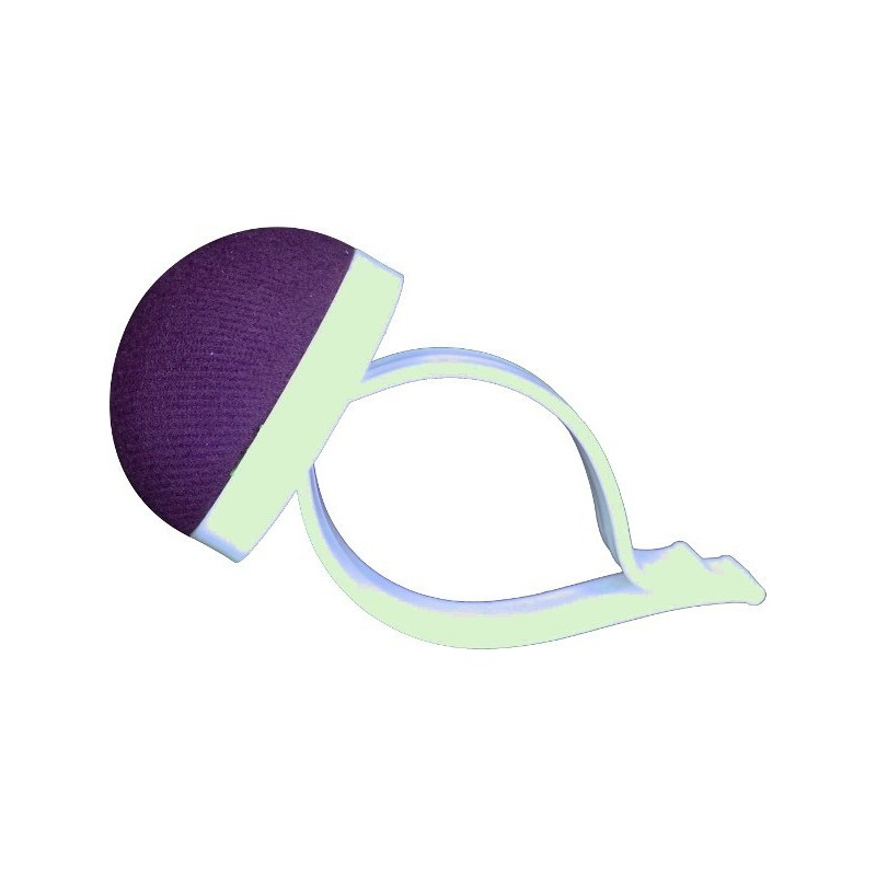 Neulatyyny puolipallo muoviranneke