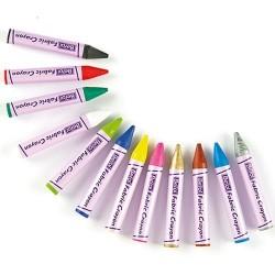 Berol tekstiilivahaliitu 12 väriä